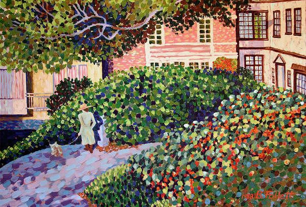 Painting - A Walk In The Park by Bonnie Follett