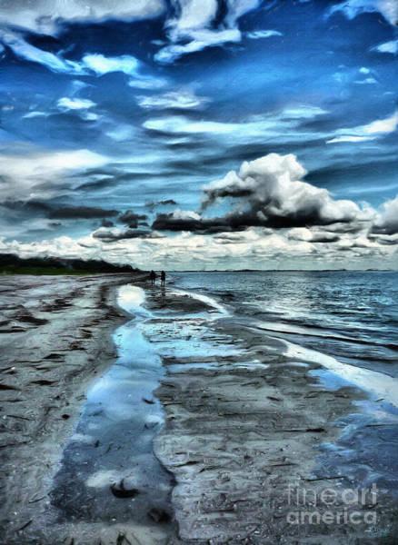 Photograph - A Walk On The Beach by Jeff Breiman