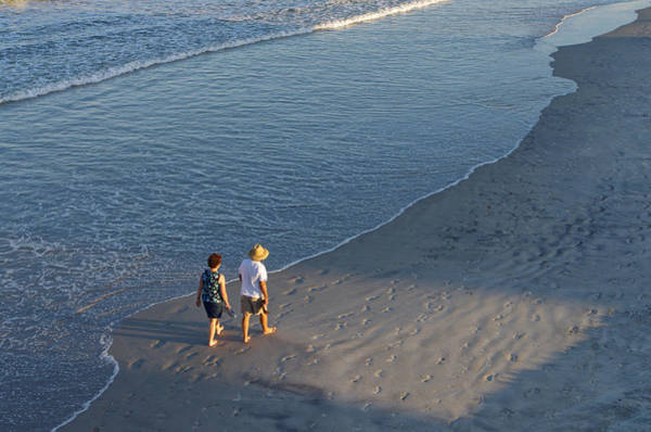 Photograph - A Walk On The Beach by Willard Killough III
