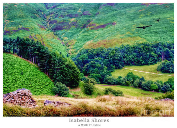 Digital Art - A Walk To Edale by Abbie Shores