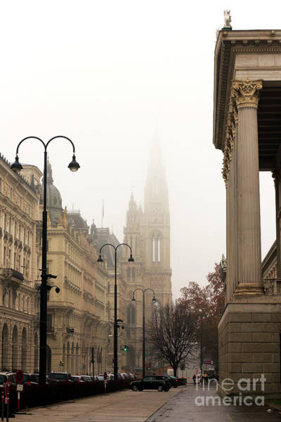 Rathaus Photograph - A Walk To The Rathaus by John Rizzuto