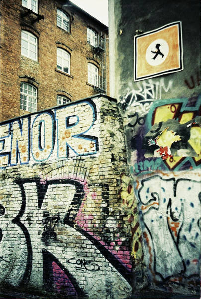 Photograph - A Wall Of Berlin With Graffiti by Nacho Vega