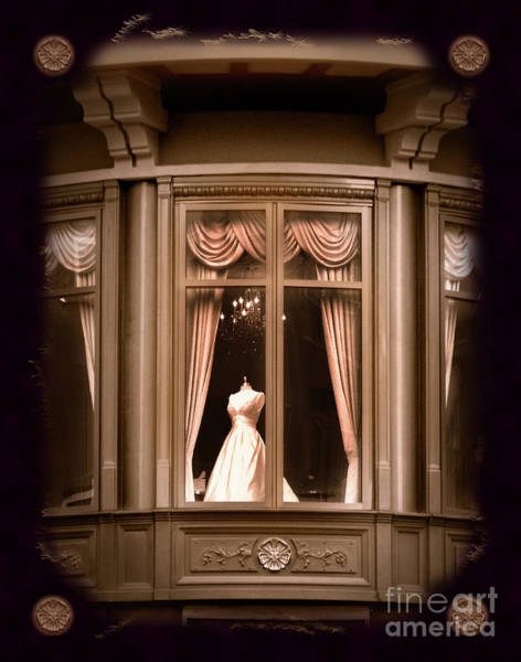 Dress Shop Photograph - A Window Lost In Time by Laura Iverson