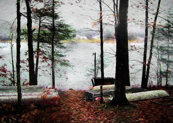 Photograph - A Windy Day At The Lake by Reynaldo Williams