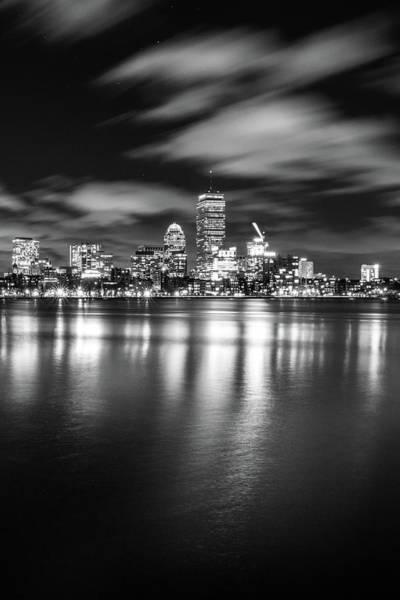 Photograph - A Windy Night In Boston by Kristen Wilkinson