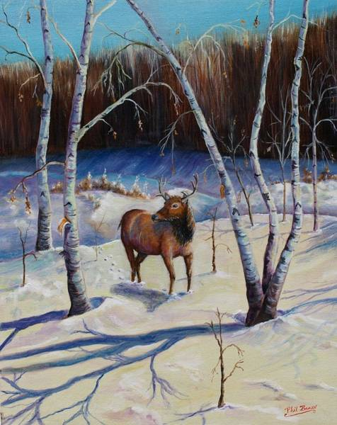 Mixed Media - A Winter Morning by Philip Bracco