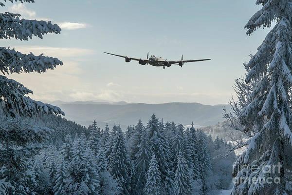 Blitz Digital Art - A Winter Wonder by J Biggadike