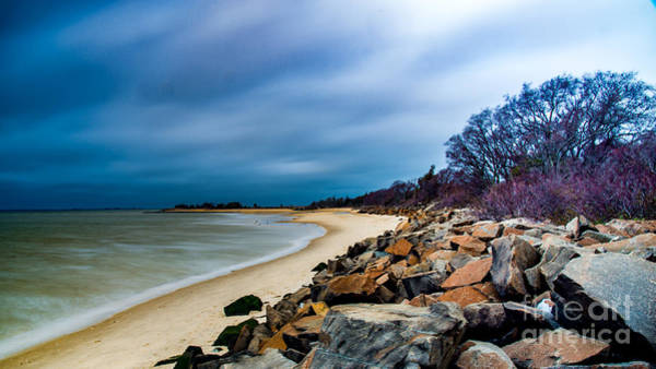 Photograph - A Winter's Beach by Jim DeLillo