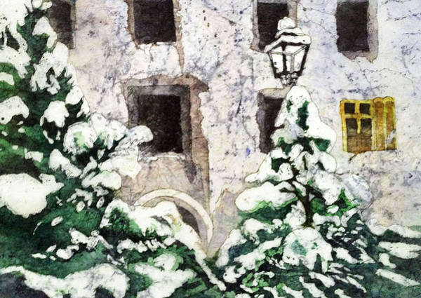 Painting - A Winter's Day by Diane Fujimoto
