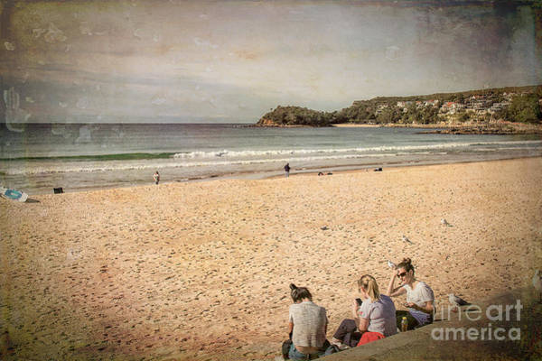 Photograph - A Winter's Day In Manly by Elaine Teague