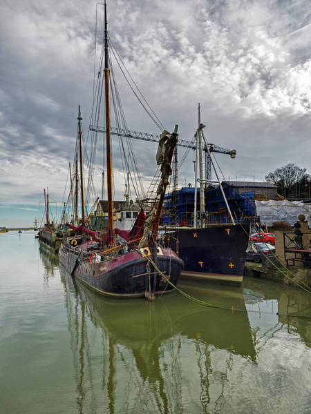 Photograph - A Working Boat by Stephen Barrie
