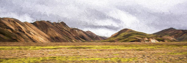 Iceland Digital Art - A World Unreal II by Jon Glaser