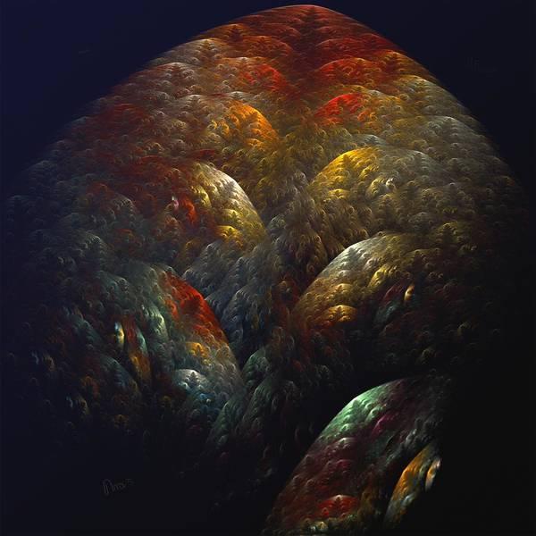 Self Similarity Digital Art - a033_Rush Hour On Submarine Highway by Drasko Regul