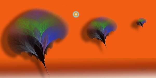 Self Similarity Digital Art - a056 Intouchables by Drasko Regul