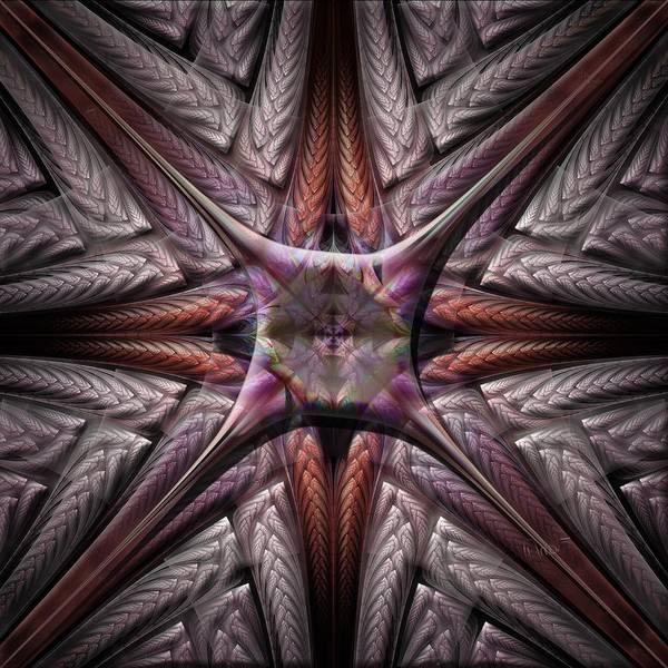 Self Similarity Digital Art - a069 Tetra by Drasko Regul