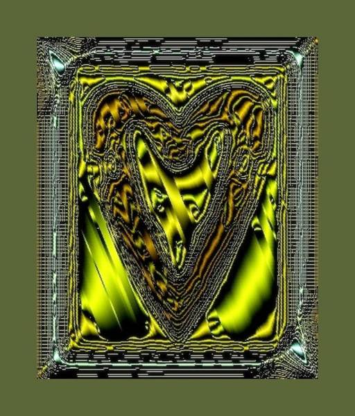 Digital Art - A_16_fox2bd by Mary Russell