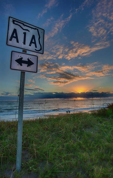 A1a Sunrise Art Print