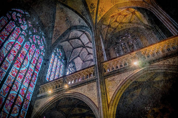 Photograph - Aachen, Germany - Cathedral - Nikolaus-michaels Chapel by Mark Forte