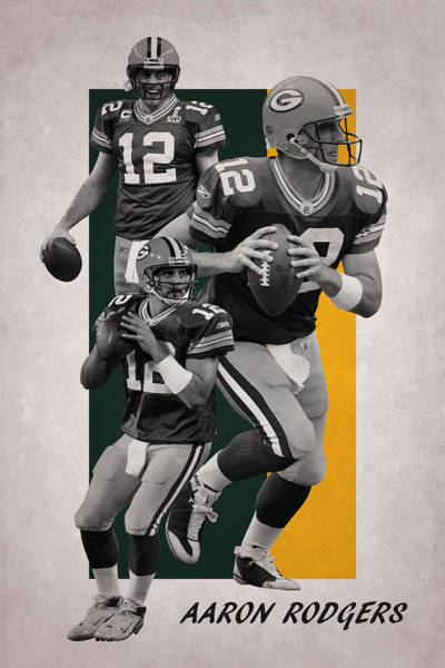 Aaron Rodgers Wall Art - Photograph - Aaron Rodgers Green Bay Packers by Joe Hamilton