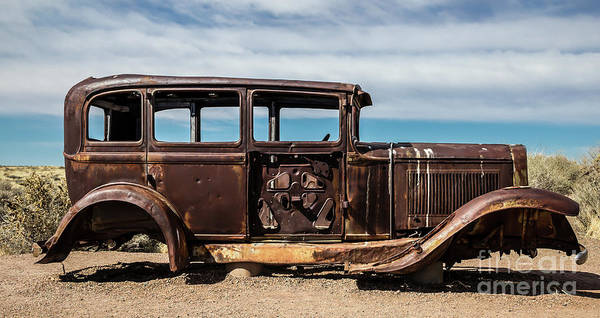 Photograph - Abandoned Car Route 66 by Jon Burch Photography