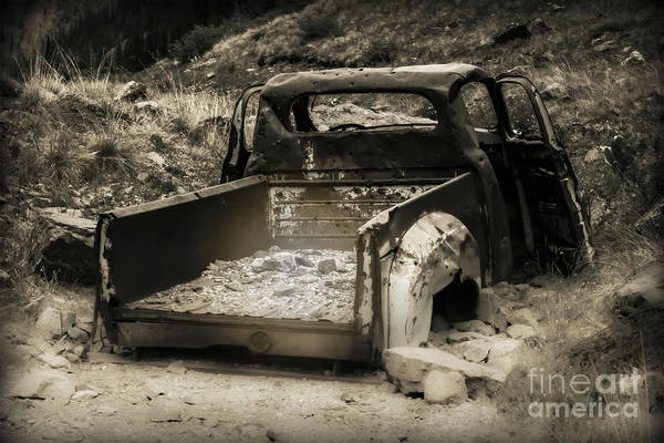 Photograph - Abandonded Treasure by Scott and Amanda Anderson