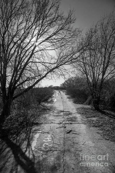 Wall Art - Photograph - Abandoned 66 In Black And White by Twenty Two North Photography