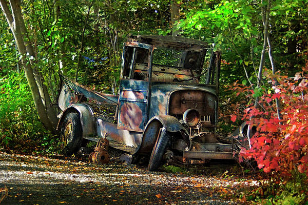 Photograph - Abandoned by Ann Lauwers