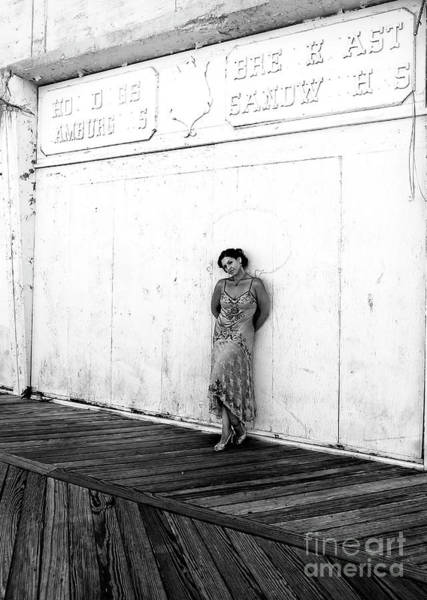 Photograph - Abandoned Asbury Park Boardwalk by John Rizzuto