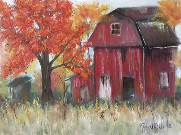 Wall Art - Photograph - Abandoned Barn by Roxy Rich