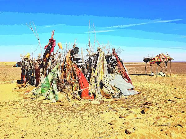 Wall Art - Photograph - Abandoned Berber Camp by Dominic Piperata