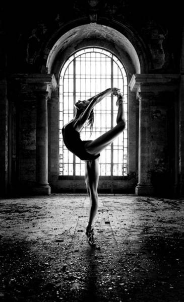 Wall Art - Photograph - Abandoned Building Ballet by Greg Waters