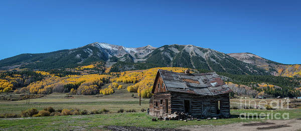 Wall Art - Photograph - Abandoned Cabin Near Crested Butte by Michael Ver Sprill