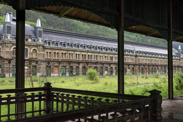 Wall Art - Photograph - Abandoned Canfranc International Railway Station From The French Pier by RicardMN Photography