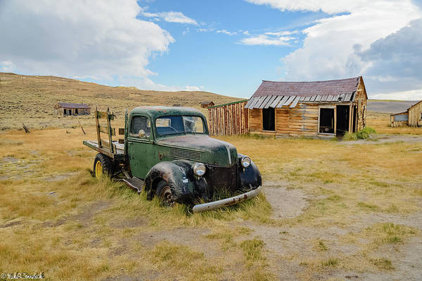 Photograph - Abandoned Chevy by Mike Ronnebeck