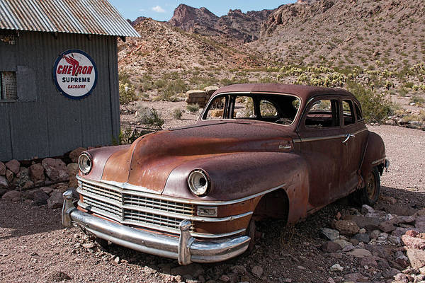 Photograph - Abandoned Chrysler by Kristia Adams