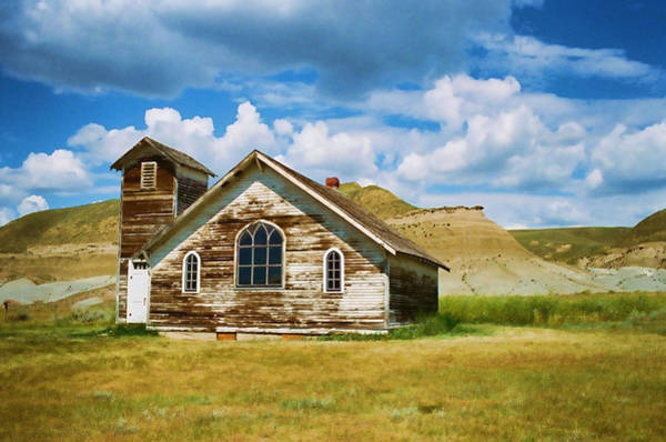 Photograph - Abandoned Church Dorothy Alberta by Lawrence Christopher