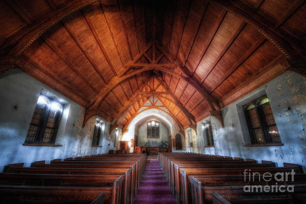 Wall Art - Photograph - Abandoned Church by Michael Ver Sprill