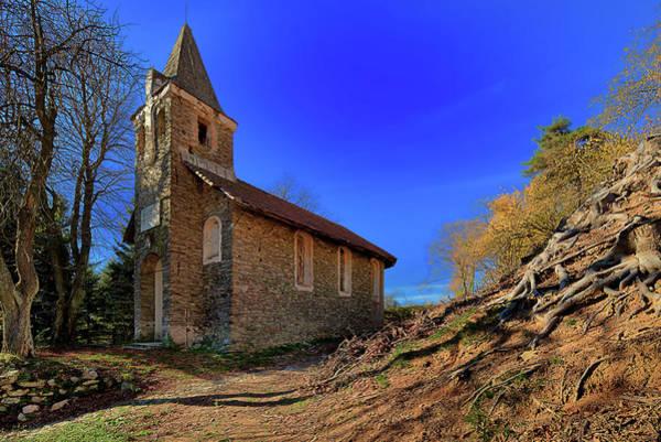 Photograph - Abandoned Church Of Abandoned Village - Chiesa Abbandonata Di Paesino Abbandonato by Enrico Pelos