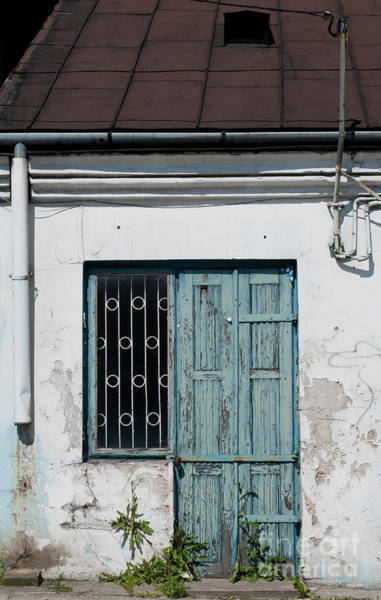 Wall Art - Photograph - Abandoned Dilapidated Old Home Wooden Door  by Arletta Cwalina