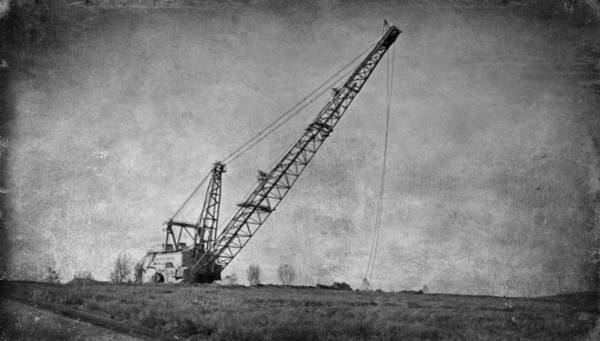 Abandoned Dragline Art Print