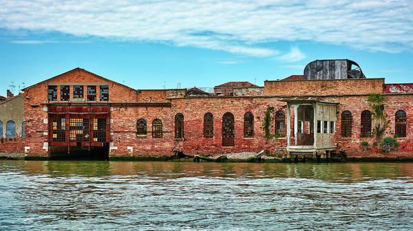 Photograph - Abandoned Facilities Around Venice, Italy by Fine Art Photography Prints By Eduardo Accorinti