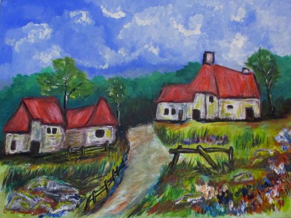 Abandoned Farm Art Print