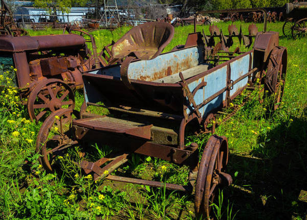 Wall Art - Photograph - Abandoned Farm Equipment by Garry Gay