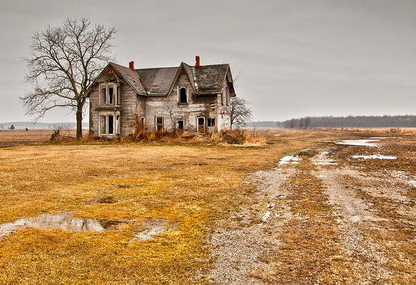 Wall Art - Photograph - Abandoned Farm House by Cale Best