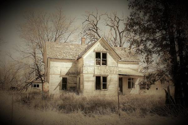 Wall Art - Photograph - Abandoned Farm House by Toni Grote