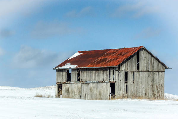 Photograph - Abandoned Farm Site by Nick Mares
