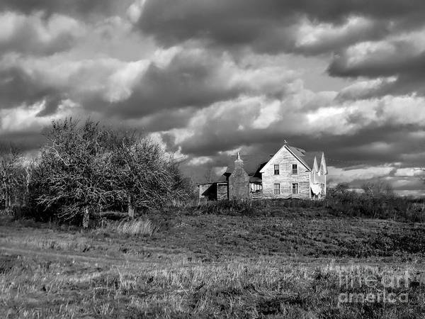 Aroostook Photograph - Abandoned Farm by William Tasker