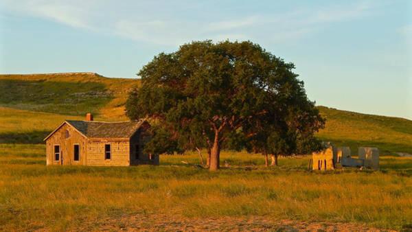 Photograph - Abandoned Farmhouse Nebraska by Dan Miller
