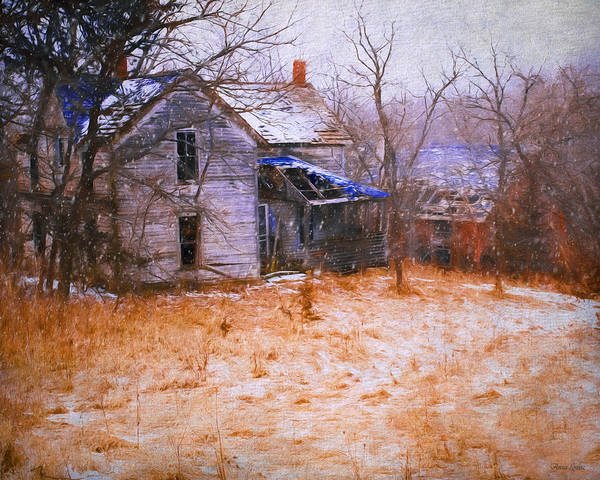 Photograph - Abandoned Farmstead by Anna Louise