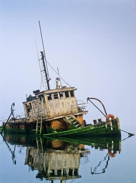 Photograph - Abandoned Fishing Boat by Robert Potts